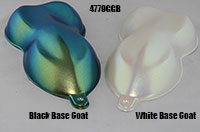 4779BG is a super flashy Chameleon that can be used over white or black.