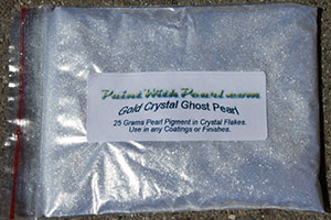 Gold Crystal Effects Ghost Pearls for Extra Flash in your custom paint.