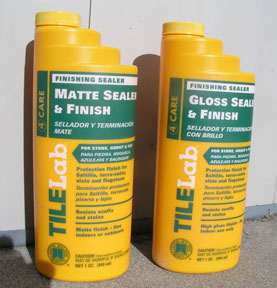 Just one of the many brands of sealer you can use to create these brilliant effects.